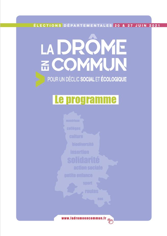 Programme La Drôme en commun